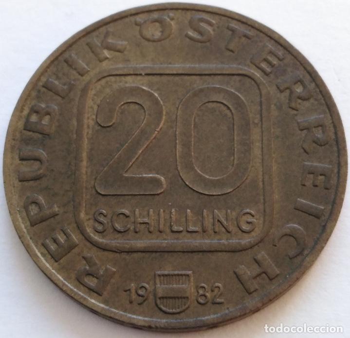 Monedas antiguas de Europa: AUSTRIA: 20 SCHILLING (CHELINES) DE 1982. 250 ANIVERSARIO DE JOSEPH HAYDN. - Foto 2 - 142577838