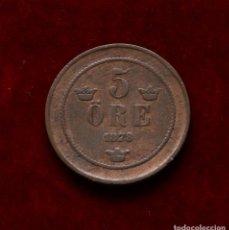 Monedas antiguas de Europa: 5 ORE 1878 SUECIA. Lote 142587590