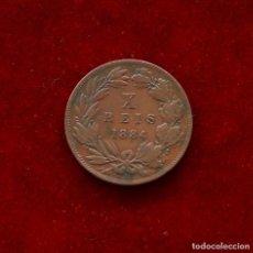 Monedas antiguas de Europa: 10 REIS 1884 PORTUGAL. Lote 142690818
