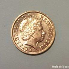 Monedas antiguas de Europa: INGLATERRA - REINO UNIDO 2012 - ELIZABETH II - ISABEL II - ONE PENNY.. Lote 142717998