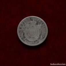 Monedas antiguas de Europa: 1 FRANCO 1867 A PLATA FRANCIA. Lote 142734938