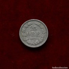 Monedas antiguas de Europa: 25 ORE 1877 PLATA SUECIA. Lote 142735482