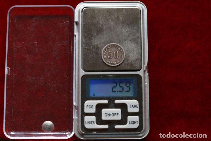 Monedas antiguas de Europa: 50 PFENNIG 1875 G PLATA ALEMANIA - Foto 3 - 142763546