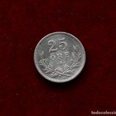 Monedas antiguas de Europa: 25 ORE 1916 PLATA SUECIA. Lote 142820994