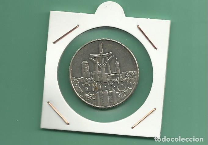 POLONIA. 10000 ZLOTYCH 1990. 10 ANIVERSARIO DE SOLIDARIDAD (Numismática - Extranjeras - Europa)