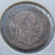 Monedas antiguas de Europa: BONITA MONEDA AUSTRO HUNGARA DE PLATA 10 KREUZER DE 1872 DEL EMPERADOR FRANZ JOSEPH I DE AUSTRIA. Lote 142859409