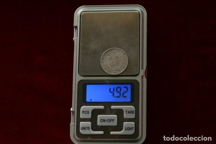 Monedas antiguas de Europa: 1 LIRA 1863 M PLATA ITALIA - Foto 3 - 142970762