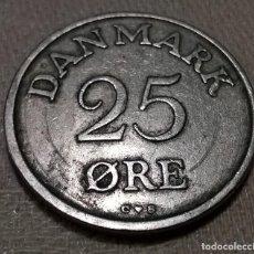 Monedas antiguas de Europa: MONEDA 25 ØRE DINAMARCA. DANMARK 1956. Lote 142984078