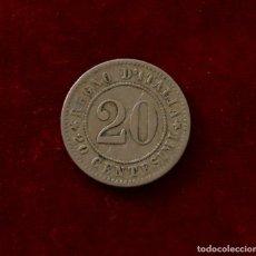 Monedas antiguas de Europa: 20 CENTESIMI 1894 ITALIA. Lote 143150942