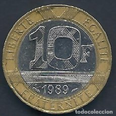 Alte Münzen aus Europa - FRANCIA - 10 FRANCS 1989 - CAT. Nº 259.1 - EBC - VISITA MIS OTROS LOTES Y AHORRA GASTOS DE ENVÍO - 143155370