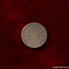 Monedas antiguas de Europa: 10 SOLDI 1868 PLATA VATICANO. Lote 143264110