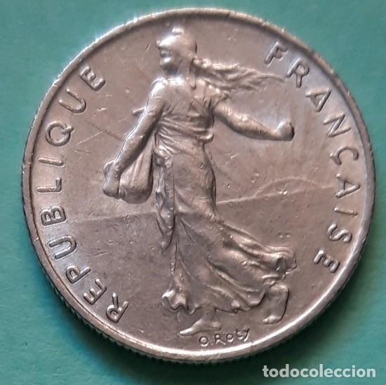 Monedas antiguas de Europa: FRANCIA - 1 FRANC 1960 - CAT. Nº 233.1 - EBC - VISITA MIS OTROS LOTES Y AHORRA GASTOS DE ENVÍO - Foto 2 - 143274746
