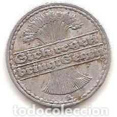 Monedas antiguas de Europa: ALEMANIA,REPUBLICA DE WEIMAR,50 PFENNIG 1922 A.. Lote 143327446