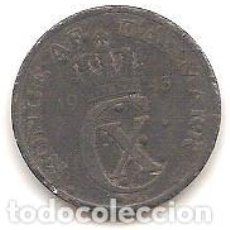 Monedas antiguas de Europa: DINAMARCA,2 ORE 1943.. Lote 143330494