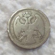 Monedas antiguas de Europa: SERBIA 20 PARA 1884 CIRCULADA. Lote 143333005