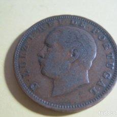 Monedas antiguas de Europa: MONEDA PORTUGUESA LUIZ I REY DE PORTUGAL AÑO 1888. Lote 143337754