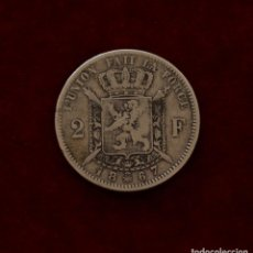 Monedas antiguas de Europa: 2 FRANCOS 1867 PLATA BELGICA. Lote 143402330