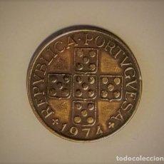 Monedas antiguas de Europa: PORTUGAL 1974 - 1 ESCUDO - MBC.. Lote 143725486
