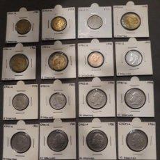 Monedas antiguas de Europa: GRECIA LOTE MONEDAS PRE-EURO. Lote 143843442