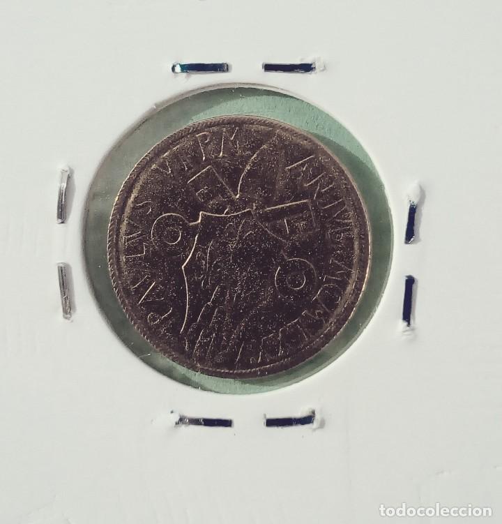 Monedas antiguas de Europa: VATICANO - 20 LIRE 1975 - ENCARTONADA - SIN CIRCULAR - AL-BRO - AÑO SANTO - PABLO VI - Foto 2 - 143919638