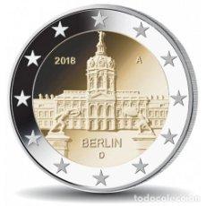 Alte Münzen aus Europa - ALEMANIA - 2 EURO 2018 - PALACIO CHARLOTTENBURGO - SIN CIRCULAR - CECA A - MIRA MIS OTROS LOTES - 153571656
