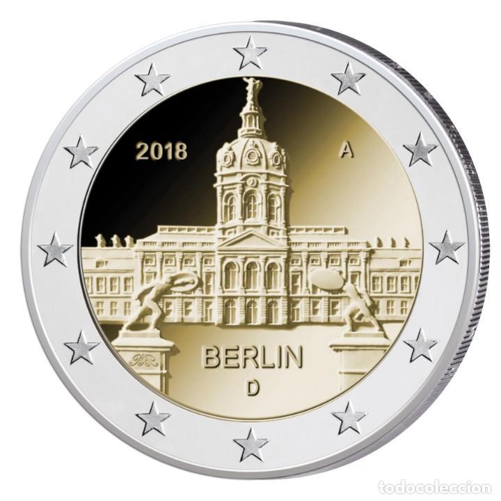 ALEMANIA - 2 EURO 2018 - PALACIO CHARLOTTENBURGO - SIN CIRCULAR - CECA G - MIRA MIS OTROS LOTES (Numismática - Extranjeras - Europa)
