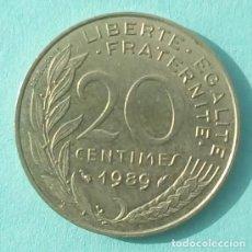Monedas antiguas de Europa: FRANCIA - 20 CENTIMES 1989 - EBC - VISITA MIS OTROS LOTES Y AHORRA GASTOS DE ENVÍO. Lote 143925674