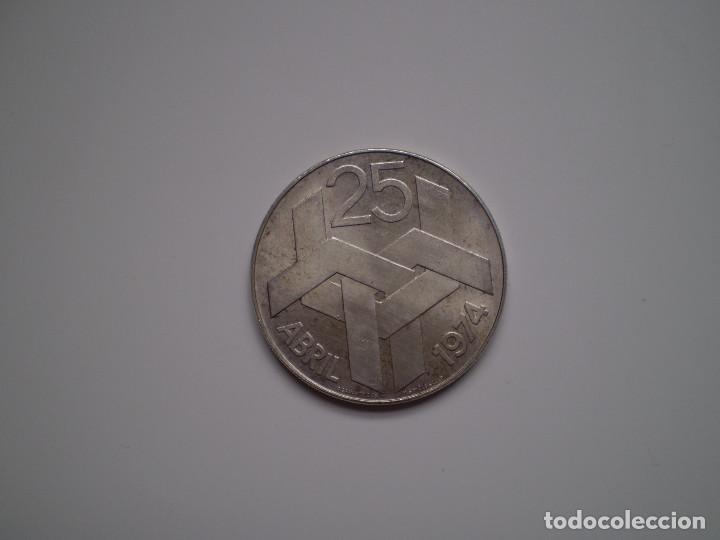 250 ESCUDOS PLATA 1976 PORTUGAL. REVOLUCIÓN DE LOS CLAVELES 25 ABRIL 1974 (Numismática - Extranjeras - Europa)