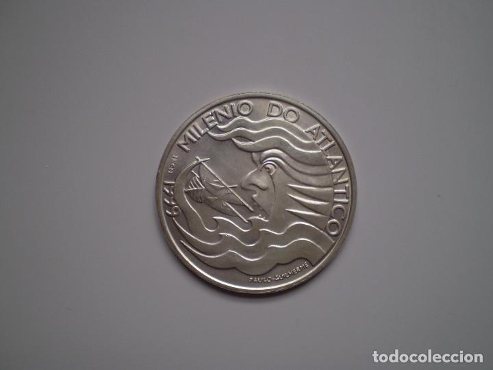 1000 ESCUDOS PLATA 1999 PORTUGAL. EXPO 98 MILENIO DEL ATLANTICO CARAVELA (Numismática - Extranjeras - Europa)