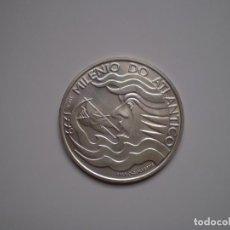 Monedas antiguas de Europa: 1000 ESCUDOS PLATA 1999 PORTUGAL. EXPO 98 MILENIO DEL ATLANTICO CARAVELA. Lote 144008046