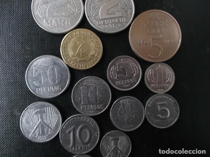 Monedas antiguas de Europa: coleccion de monedas antigua Alemania Democratica - Foto 6 - 144318142