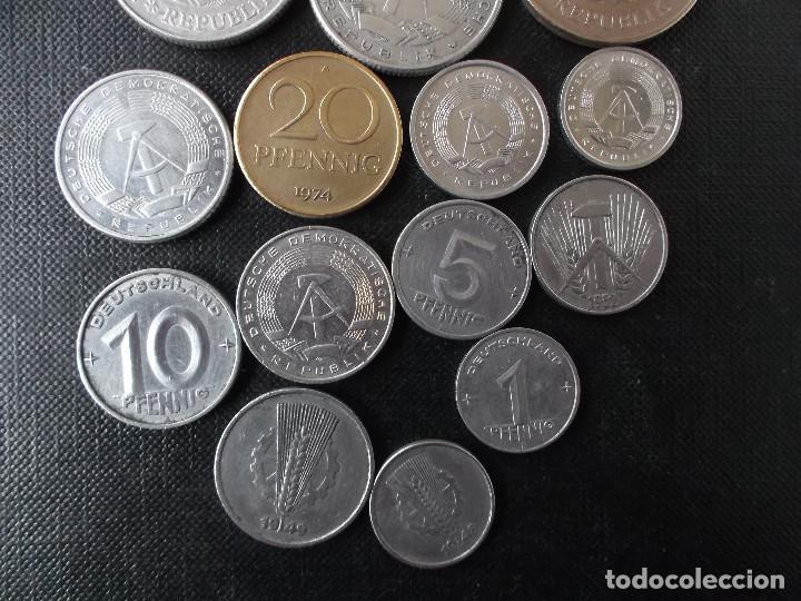 Monedas antiguas de Europa: coleccion de monedas antigua Alemania Democratica - Foto 8 - 144318142
