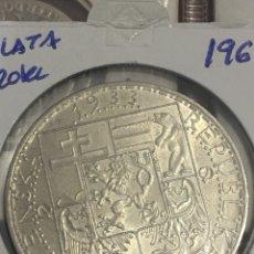 Monedas antiguas de Europa: MONEDA CHECOSLOVAQUIA 20 CORONAS. PLATA 1933. Lote 144356865