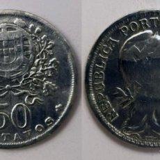 Monedas antiguas de Europa: PORTUGAL - 50 CENTAVOS, 1947 - KM# 577. Lote 144499318