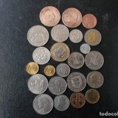 Monedas antiguas de Europa: COLECCION DE MONEDAS DE PORTUGAL ALGUNAS DE PLATA Y ANTIGUAS . Lote 144535070