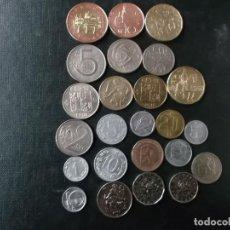 Monedas antiguas de Europa: COLECCION DE MONEDAS REPUBLICA CHECA + ANTIGUA CHECOSLOVAQUIA . Lote 145047250