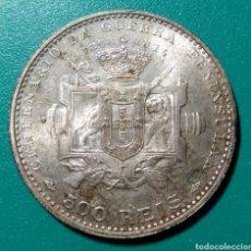 Monedas antiguas de Europa: PORTUGAL, 500 REIS DE PLATA, 1910. Lote 145296978