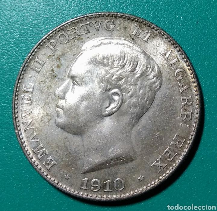 Monedas antiguas de Europa: Portugal, 500 Reis de plata, 1910 - Foto 2 - 145296978