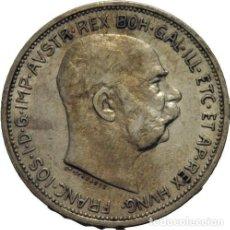 Monedas antiguas de Europa: HABSBURGO 2 CORONAS-1912 FRANZ JOSEPH VIENA AUSTRIA, PLATA. Lote 145611770