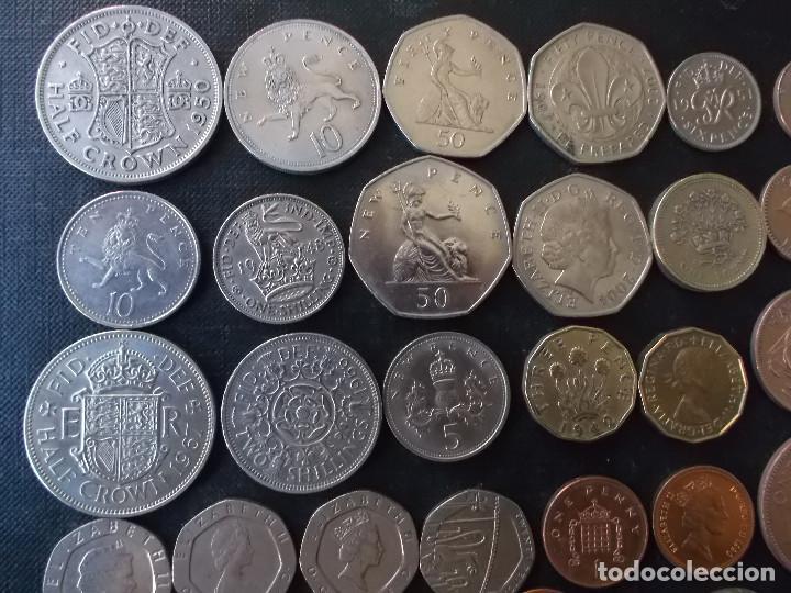 Monedas antiguas de Europa: supercoleccion de 53 monedas de Inglaterra diferentes y epocas - Foto 3 - 146347930
