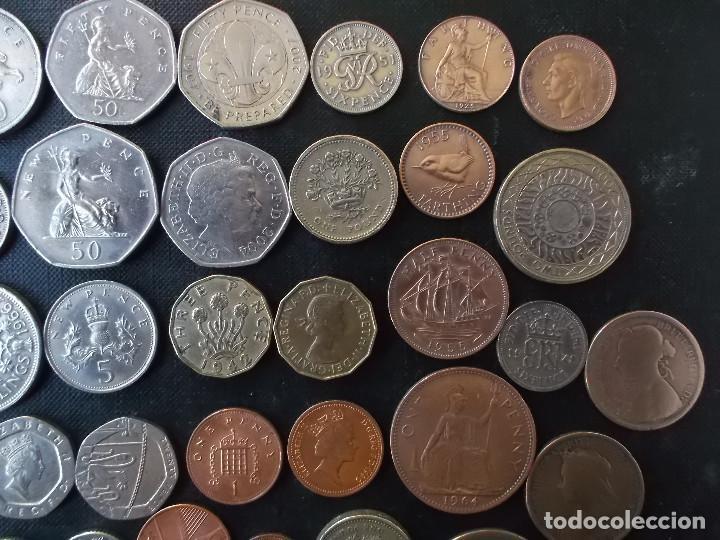 Monedas antiguas de Europa: supercoleccion de 53 monedas de Inglaterra diferentes y epocas - Foto 4 - 146347930