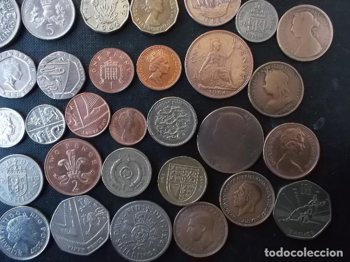 Monedas antiguas de Europa: supercoleccion de 53 monedas de Inglaterra diferentes y epocas - Foto 5 - 146347930