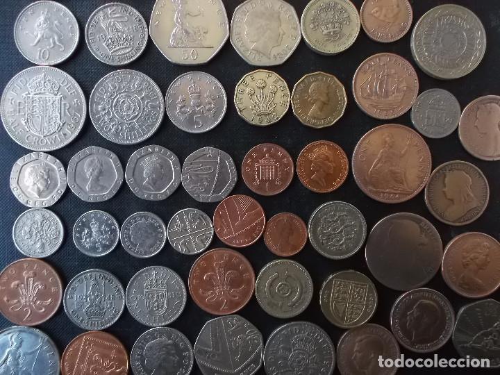 Monedas antiguas de Europa: supercoleccion de 53 monedas de Inglaterra diferentes y epocas - Foto 7 - 146347930