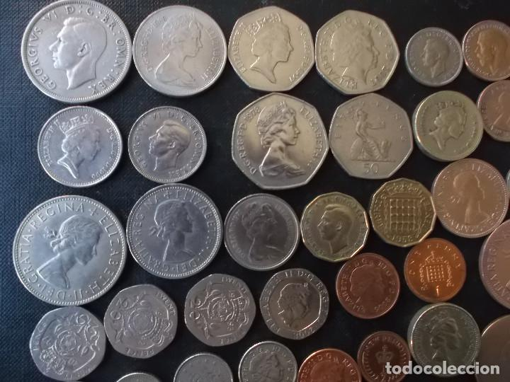 Monedas antiguas de Europa: supercoleccion de 53 monedas de Inglaterra diferentes y epocas - Foto 8 - 146347930