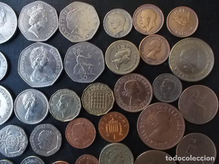 Monedas antiguas de Europa: supercoleccion de 53 monedas de Inglaterra diferentes y epocas - Foto 9 - 146347930