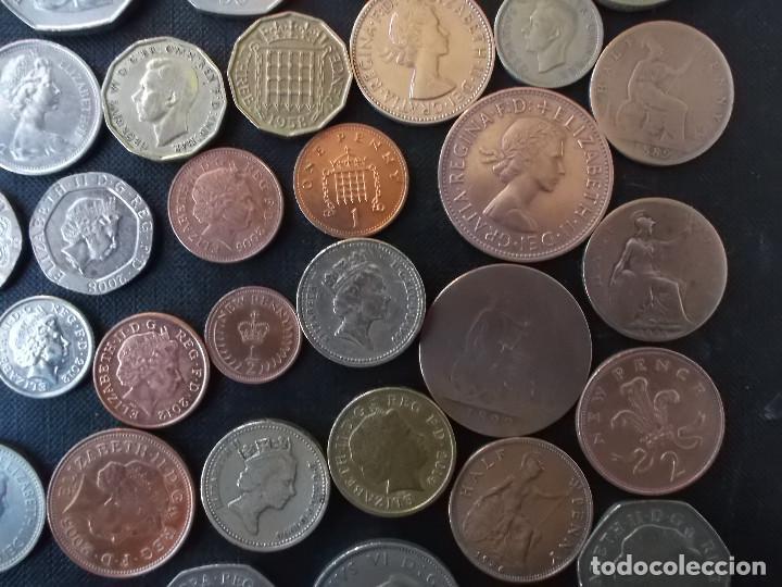 Monedas antiguas de Europa: supercoleccion de 53 monedas de Inglaterra diferentes y epocas - Foto 10 - 146347930