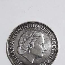 Monedas antiguas de Europa: MONEDA PLATA 21/2 JULIANA GOLDEN NEDERLAND 1959. Lote 146436698