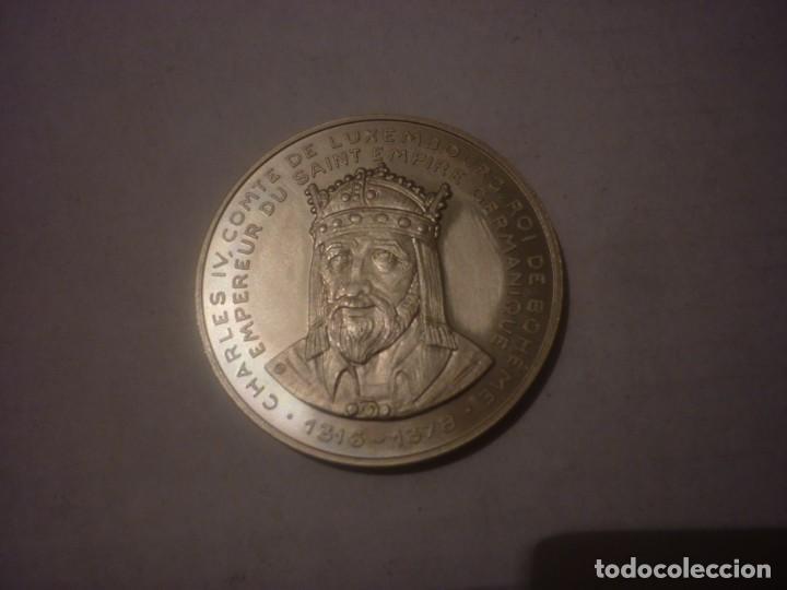 5 ECU DE LUXEMBURGO DE 1992 CONMEMORANDO LOS 40 AÑOS DEL PARLAMENTO EUROPEO (Numismática - Extranjeras - Europa)