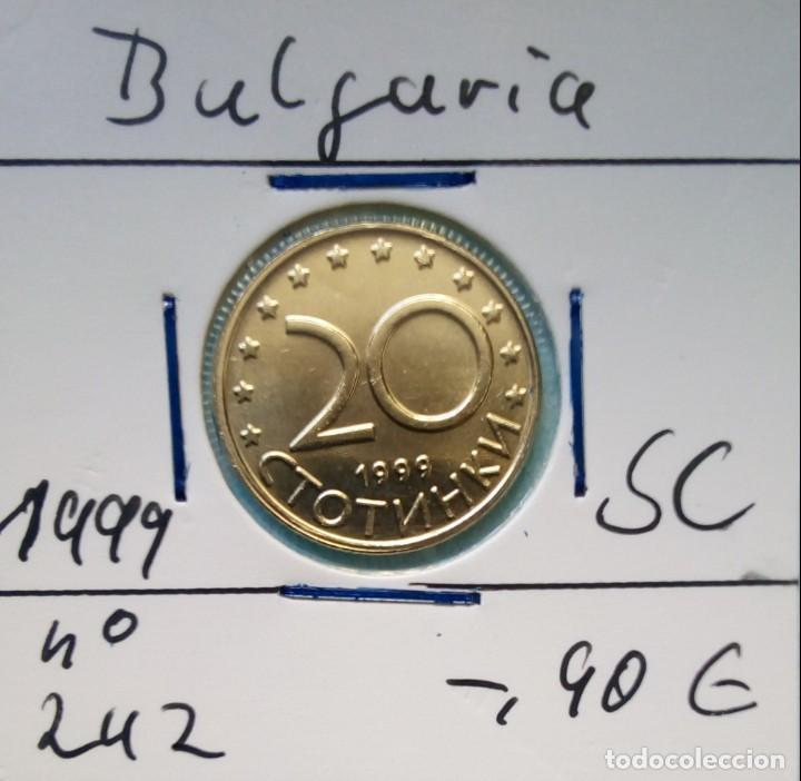 BULGARIA - 20 STOTINKA 1999 - CAT. SCHOEN Nº 242 - S / C - ENCARTONADA - VISITA MIS OTROS LOTES (Numismática - Extranjeras - Europa)