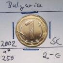 Monedas antiguas de Europa: BULGARIA - 1 LEVA 2002 - DE CARTUCHO - S / C - ENCARTONADA - VISITA MIS OTROS LOTES Y AHORRA GASTOS. Lote 150490693
